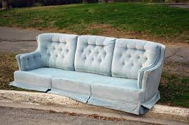 how to get rid of old sofa how to dispose of old furniture and remove other large items of trash