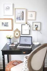 Home Goods Wall Decor by Organizing A Home Office Before U0026 After The Everygirl