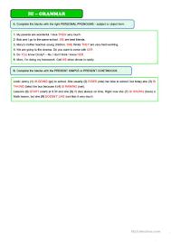 susanna u0027s family 3 page test 7th grade worksheet free esl