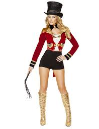 seductive circus leader costumes halloween costumes and