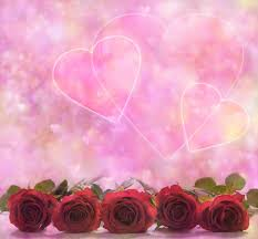 roses and hearts roses and hearts poster stock photo image 49220544