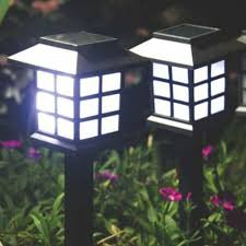 solar powered lantern lights tanbaby 4pcs palace lantern solar powered garden landscape light for