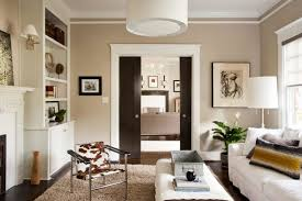 Color Ideas For Living Room With Brick Fireplace Pleasant Living Room Decor With Neutral Paint Color Also Brick