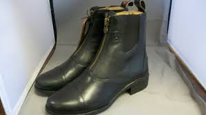 leather motorcycle riding boots ariat kid u0027s 4lr technology devon iii riding boots black freeman