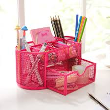 Wire Mesh Desk Accessories by File Boxes