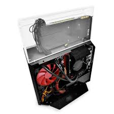 deepcool introduces two new itx case concepts with gpu showcase