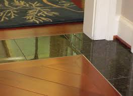 Laminate Floor Reducer Strip Floor Transitioning Kitchen To Livingroom Flush Floor