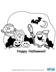 mr happy halloween coloring pages hellokids com