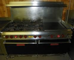 6 burner with griddle pete u0027s restaurant equipment