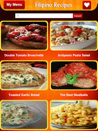 filipino food recipes android apps on google play