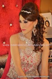 poof at the crown hairstyle 10 best indian bridal hairstyles for long hair