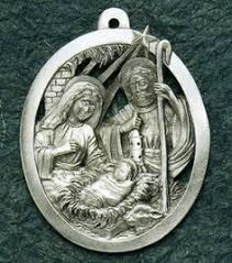 collectable fairies sparkling pewter ornament 6