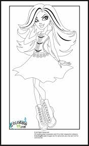 monster high halloween coloring pages printable coloring pages