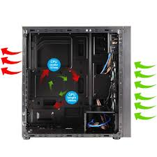 Computer Cabinet Online India Buy Zebronics Coal Mid Tower Premium Gaming Cabinet Online Best