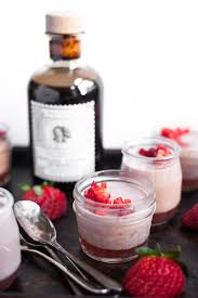 strawberry panna cotta with balsamic vinegar a calculated whisk