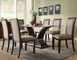 photo stunning 7 piece round dining room set contemporary dining