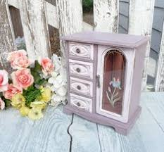 Shabby Chic Jewelry Armoire by Shabby Chic Jewelry Box Shabby Chic Jewelry