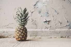 copyspace food fruit healthy food pineapple pink tropical