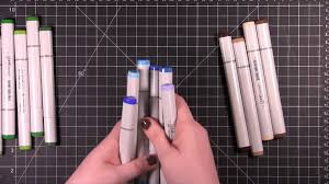 card making and paper crafting how to what copic marker colors