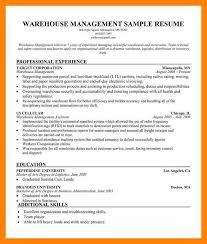 Knockout Manager Resume Template Free by Resume For Warehouse Manager Cv01 Billybullock Us