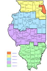of illinois map dhs dhs regional map