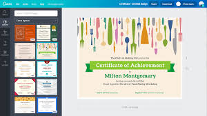 Best Program To Design Business Cards Free Online Certificate Maker Design A Custom Certificate Canva