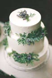 wedding cake green white wedding cake with green leaves
