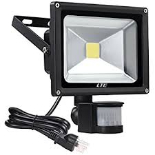 outdoor led motion lights lte 20w motion sensor flood lights outdoor security floodlight