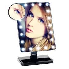 amazon com suntop led lighted vanity makeup mirror 20 light