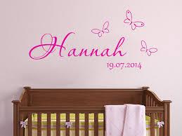 wandtattoo kinderzimmer name wandtattoo babyzimmer süße baby motive mit namen wandtattoos de