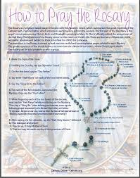 catholic rosary online how to pray the rosary praise god scriptures and catholic online