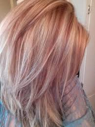 shades of high lights and low lights on layered shaggy medium length 20 shades of strawberry blonde hair color