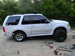 ford ranger with a lift kit 2002 explorer sport spindle lift pics ford explorer and