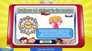 einsteins brothers sisters rescue game