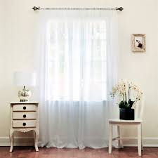 decor attractive sheer curtains for modern middle room ideas