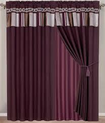 Chocolate Curtains With Valance Shop Elegantlinensanddecor Com