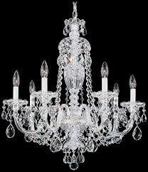 schonbek 2995 40h swarovski lighting sterling chandelier