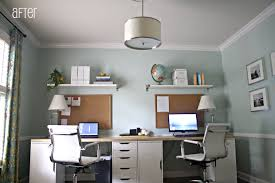 decorate office shelves decorations small modern home office design ideas with rectangle