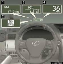 heads up display lexus rx 350 up display instrument cluster when driving lexus rx