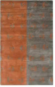 Area Rugs Orange Gray And Orange Area Rug Orange Area Rugs Brilliant Contemporary