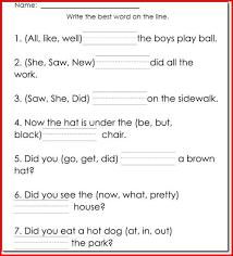 1st grade worksheets reading worksheets