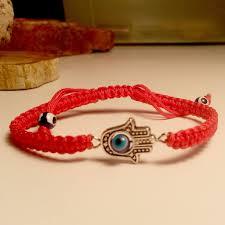 braided cord bracelet images Hamsa evil eye red string bracelet at lucky charms 18 lucky jpg