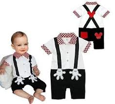 Mickey Mouse Toddler Costume Mickey Mouse Baby Clothes Ebay