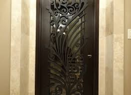 ornamental iron screens for doors modern interior decorative