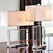 Glass Table Girls Bedroom Best 25 Table Lamps Ideas On Pinterest Lamp Inside Glass