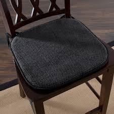 Dining Chair Foam Lavish Home Memory Foam Pad Dining Chair Cushion Reviews Wayfair