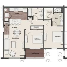 2 bedroom floor plans scioto ridge luxury apartments with gorgeous river views