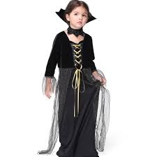 Vampire Halloween Costumes Kids Girls Cheap Vampire Halloween Costumes Aliexpress