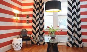 Black And White Striped Bedroom Curtains 5 Styles Of Black Striped Curtains