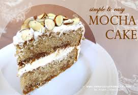 simple u0026 easy mocha cake sweetsourmoments